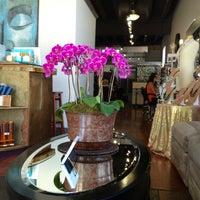 Photo taken at Lotus Hair Studio by Kim L. on 4/17/2013