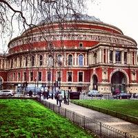 Photo taken at Royal Albert Hall by Мария П. on 3/27/2013