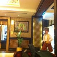 Photo taken at Arabian Courtyard Hotel by Sameer H. on 2/5/2013