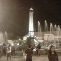 Photo taken at Tugu Muda by Tri D. on 10/13/2012