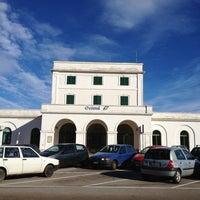 Photo taken at Stazione di Ostuni by egami on 1/6/2013