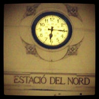 Photo taken at Valencia North Railway Station (YJV) by Anna L. on 2/1/2013