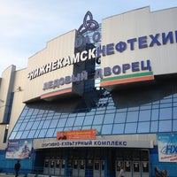 Photo taken at Ледовый дворец by Татьяна 💜 Ф. on 10/8/2012