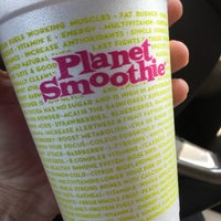 Photo taken at Planet Smoothie by Pearle S. on 3/30/2016