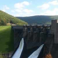 Photo taken at Kinzua Dam by Maryna P. on 9/29/2013
