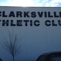 Photo taken at Clarksville Athletic Club by MichaelandChasity M. on 1/22/2013