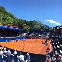 Das Foto wurde bei FIVB Gstaad Center Court von Roman T. am 7/17/2016 aufgenommen