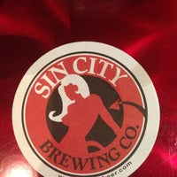 Photo taken at Sin City Brewing Company by Steve D. on 10/15/2012