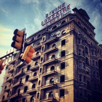 Photo taken at Divine Lorraine Hotel by Mike D. on 7/4/2013