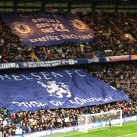 Photo taken at Stamford Bridge by Saeed on 12/23/2012