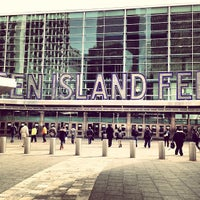 Photo taken at Staten Island Ferry - Whitehall Terminal by Jimmy S. on 3/21/2013