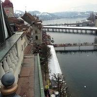 Photo taken at Hotel Des Balances by Андрей Г. on 2/12/2013