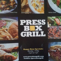 Photo taken at Press Box Grill by A G. on 8/5/2013