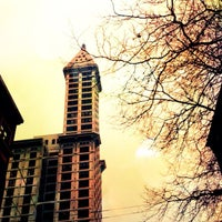 Photo taken at Smith Tower by Kerry M. on 1/30/2013