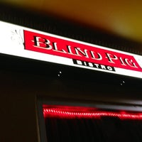 Photo taken at Blind Pig Bistro by Kerry M. on 9/8/2013