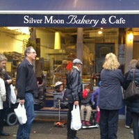 Photo taken at Silver Moon Bakery by Sari S. on 10/30/2012