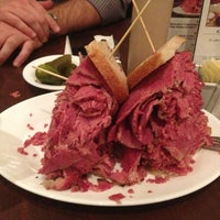 Photo taken at Carnegie Deli by mike m. on 3/29/2013
