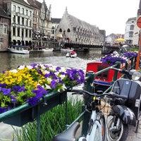 Photo taken at Het Waterhuis aan de Bierkant by Yasemin A. on 7/14/2013