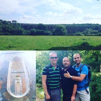 Photo taken at Ouse Valley Viaduct | Balcombe Viaduct by Julian H. on 8/29/2016