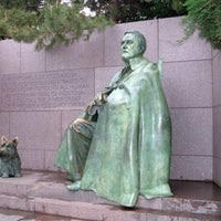 Photo taken at Franklin Delano Roosevelt Memorial by Steven M. on 10/29/2012