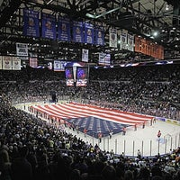 Photo taken at Nassau Veterans Memorial Coliseum by Steven M. on 1/19/2013