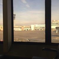Photo taken at Gate B10 by Ariel P. on 2/2/2014
