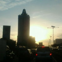 Photo taken at Jalan Tol Dalam Kota by Sinaryo N. on 2/28/2013