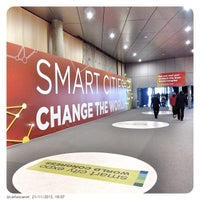 Photo taken at Smart City Expo by Carlos C. on 11/21/2013