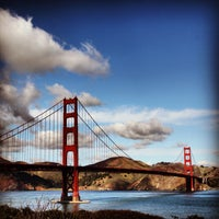 Photo taken at Golden Gate Bridge by The And on 6/28/2013