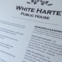 Photo taken at White Harte Pub by David N. on 6/2/2013