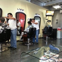Photo taken at Barber Shop Mx by juan M. on 5/18/2014