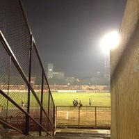 Photo taken at Stadion Andi Mattalatta (Mattoangin) by yudhi f. on 9/24/2013