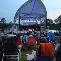 Photo taken at The Levitt Pavilion by Jane S. on 8/2/2014