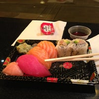 Photo taken at Osaka Sushi Express & Fresh Fruit Smoothies by Leanna D. on 4/13/2013