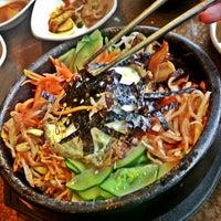 Photo taken at Hosoonyi Korean Restaurant by Lili R. on 8/15/2013