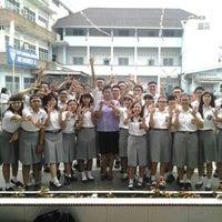 Photo taken at SMA Methodist 2 Medan by Vincentius W. on 11/19/2013