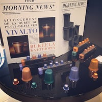 Photo taken at Nespresso Boutique by Clement H. on 8/8/2015
