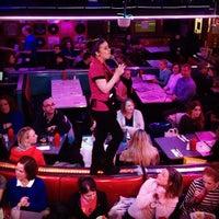 Photo taken at Ellen's Stardust Diner by Maria Carolina C. on 2/25/2013