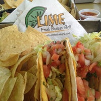 Photo taken at Lime Fresh Grill by Vegas C. on 12/2/2012