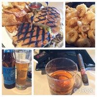 Photo taken at Jamie's Cigar Bar & Restaurant by JRCX . on 4/23/2015