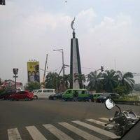 Photo taken at Tugu Kujang Bogor by Paulus T. on 9/17/2012