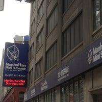 Photo taken at Manhattan Mini Storage by In NYC on 5/18/2013