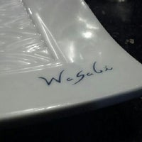 Photo taken at Wasabi Japanese Steakhouse by Kathy S. on 9/16/2012