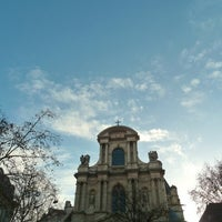Photo taken at Place Saint-Gervais by MikaelDorian on 12/18/2012