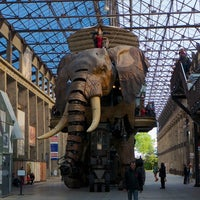 Photo taken at The Machines of the Isle of Nantes by MikaelDorian on 5/11/2014