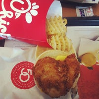 Photo taken at Chick-fil-A by Kerry W. on 1/16/2014