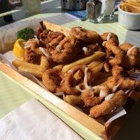 Photo taken at Aristos Waterfront Rottnest Fish Cafe by Tye J. on 4/23/2014