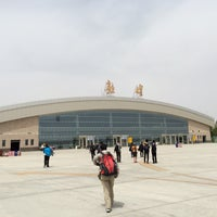 Photo taken at Dunhuang airport (DNH) by Bernard C. on 5/17/2014