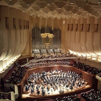 Photo taken at Louise M. Davies Symphony Hall by Ethan P. on 2/28/2014