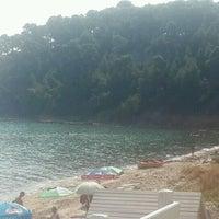 Photo taken at Almyra Beach Bar by Ayse F. on 9/15/2016